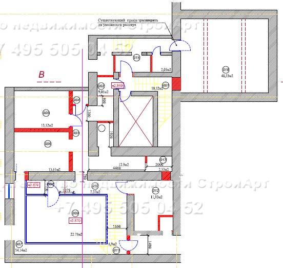 Аренда помещения под банк 1-я Тверская-Ямская д.26, 250 кв.м без комиссии
