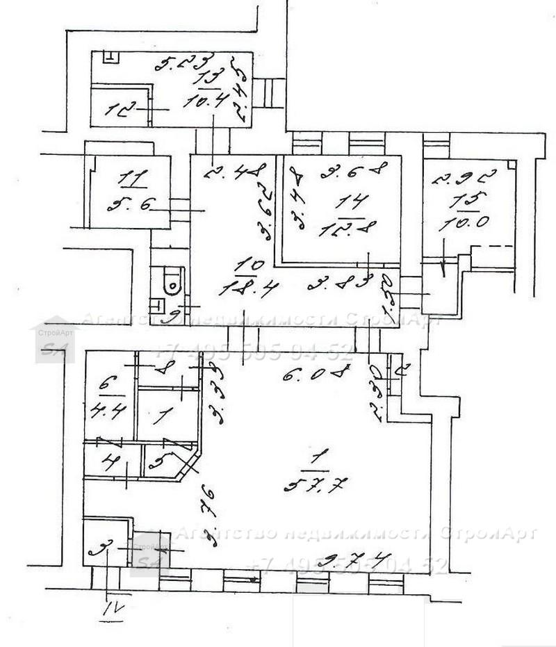 Аренда помещения под банк м. Арбатская, Никитский бульвар д.8, 135кв.м без комиссии